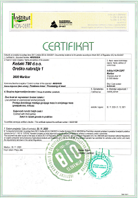 Certificate BIO