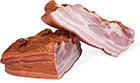 Prekajena hamburška slanina